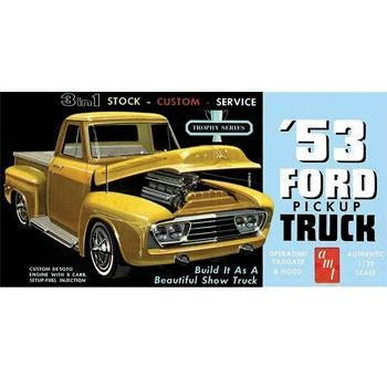 AMT 1-25 1953 Ford PickUp