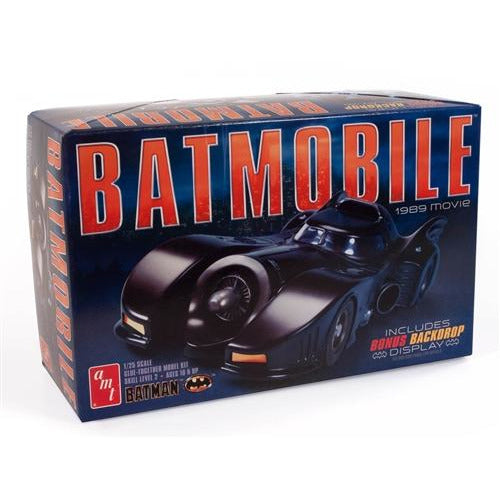 AMT 1-25 1989 Batmobile Model Kit
