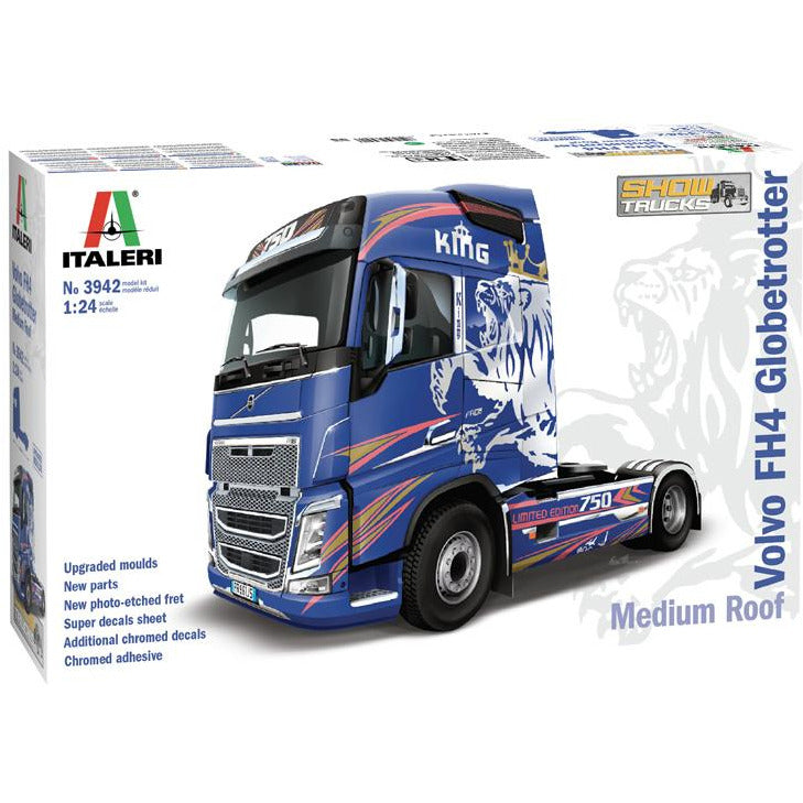 Italeri-1-24-VOLVO-FH4-Globetrotter-Medium-Roof