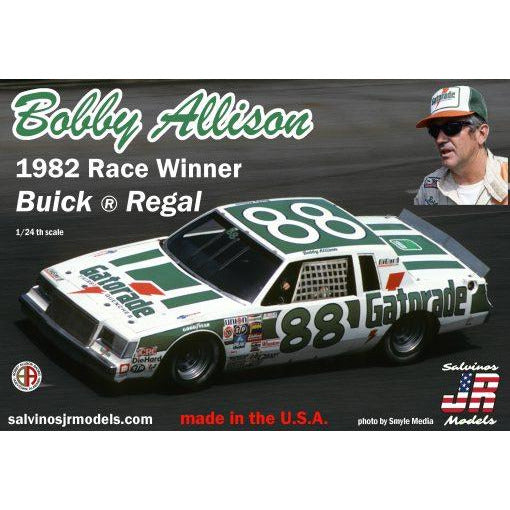 Salvinos JR 1/24 BAB1982D Bobby Allison 1982 Race Winner Buick®Regal
