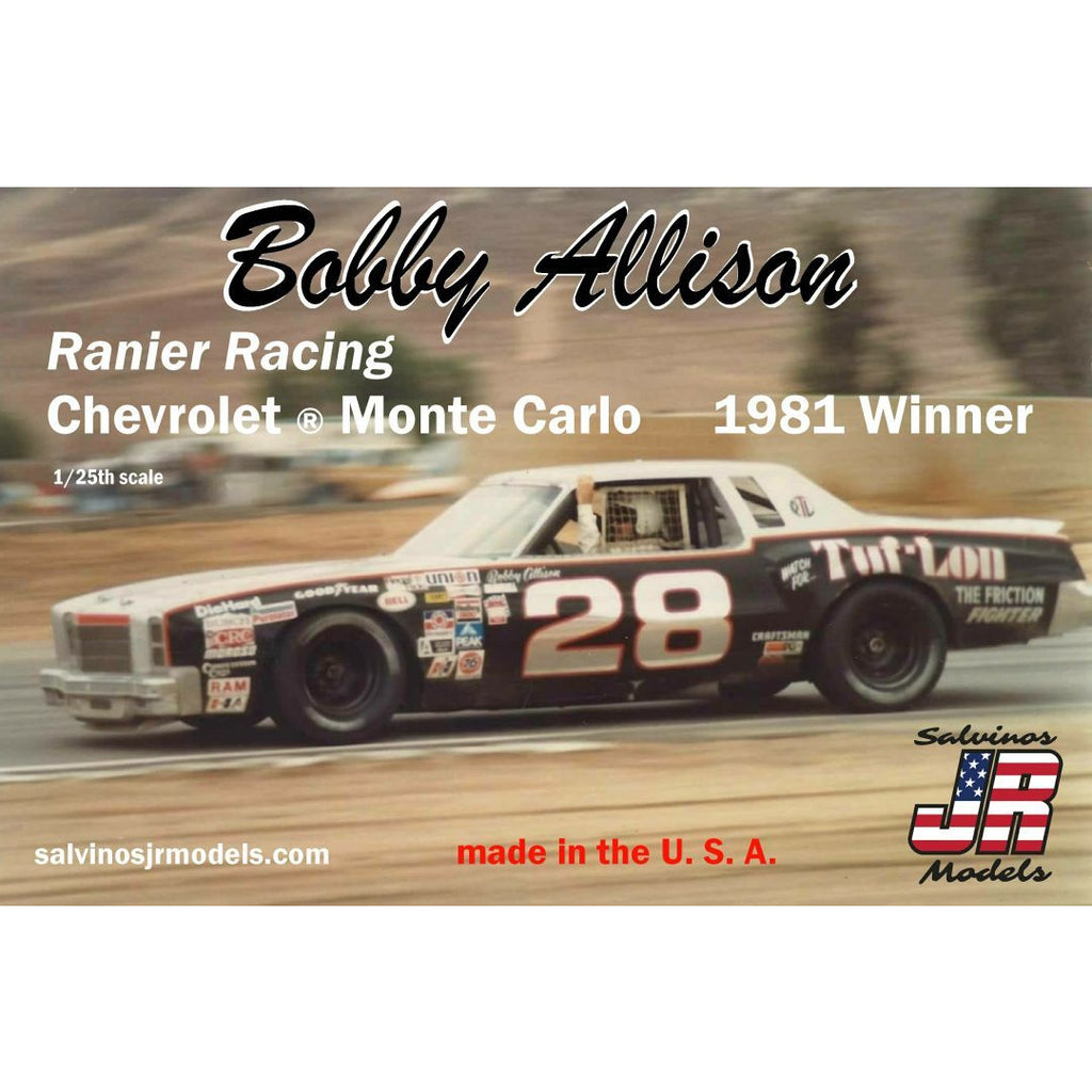 Salvinos JR 1/25 Bobby Allison's Chevrolet ® Monte Carlo 1981 Winner