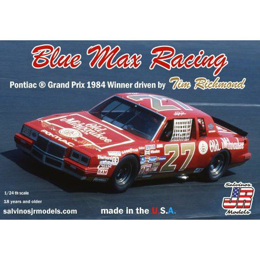 Salvinos JR 1/25 Blue Max Racing 1984 Pontiac Grand Prix Winner driven by Tim Richmond