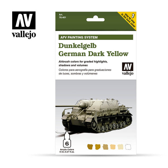 Vallejo AFV - Dunkelgelb German Dark Yellow