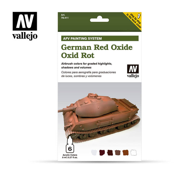 Vallejo AFV German Red Oxide