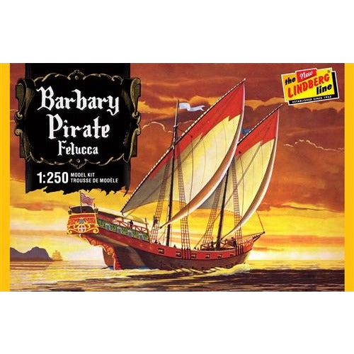 Lindberg Barbary Pirate Ship 1:250 Scale Model Kit