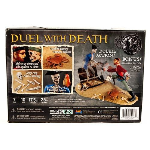 Lindberg Jolly Roger Series: Duel with Death 1:12 Scale Model Kit