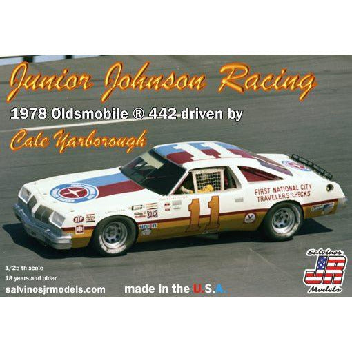 Salvinos JR 1/24 Junior Johnson Racing 1978 Oldsmobile ® 442 driven by Cale Yarborough