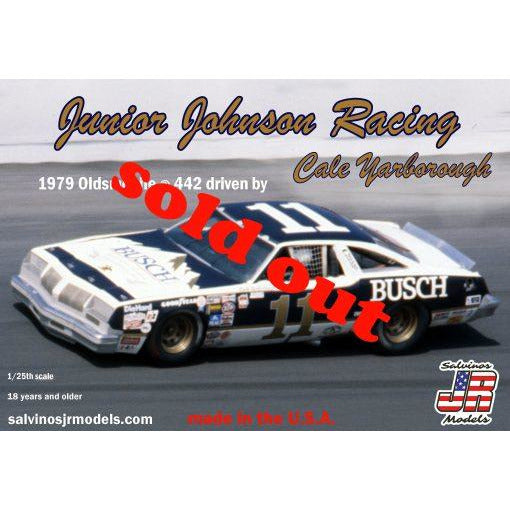 Salvinos JR 1/25 Junior Johnson Racing 1979 Oldsmobile ® 442 Driven By Cale Yarborough