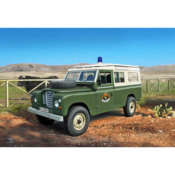 Italeri-1-35-LAND-ROVER-SERIES-III-109-Guardia-Civil