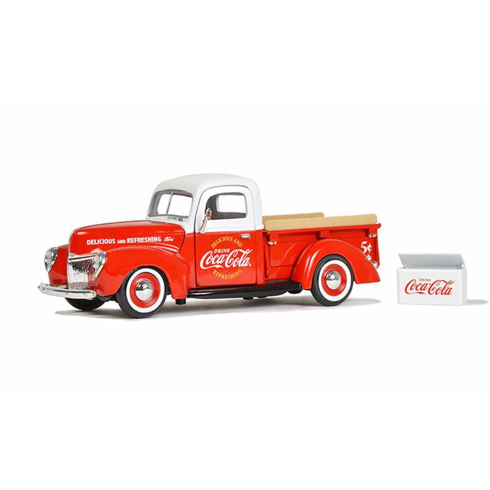 Motor City Classics 1/241940 Ford Pickup with Commerical Cooler Accessory