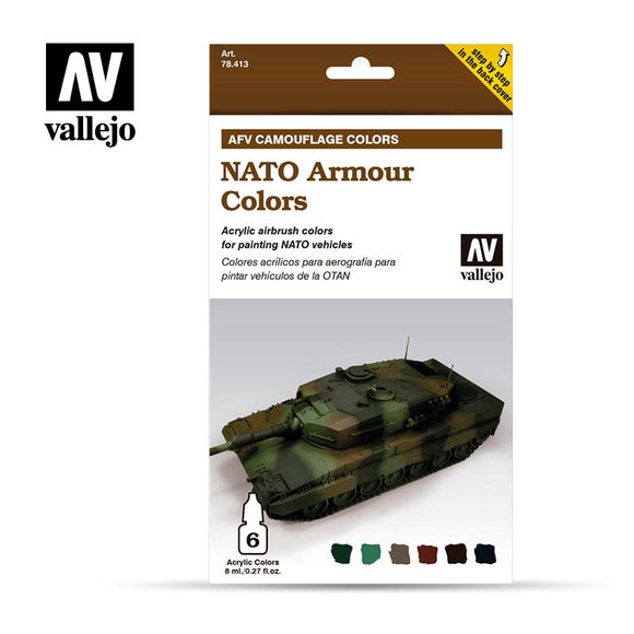 Vallejo AFV NATO Armour Colors
