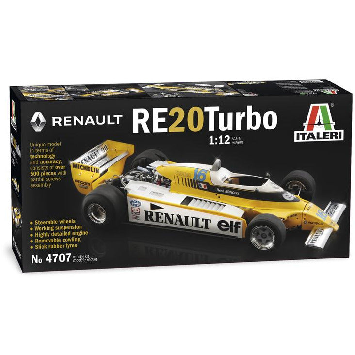 Italeri-1-12-RENAULT-RE-20-Turbo