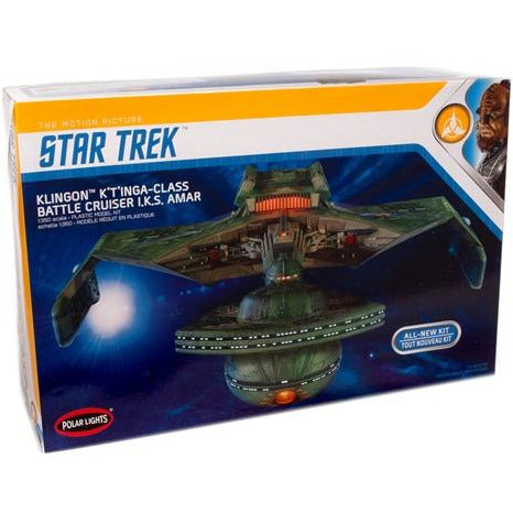 Polar Lights Star Trek Klingon K't'inga 1:350 Scale Model Kit