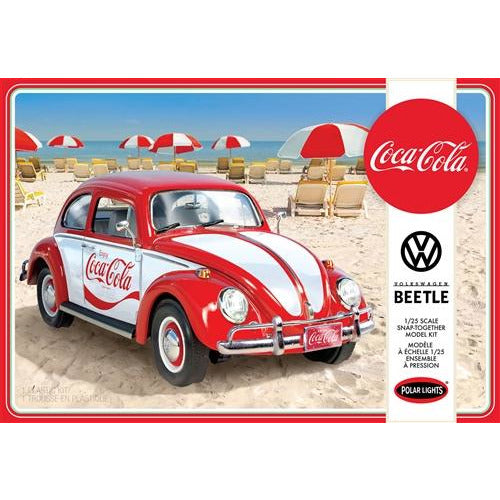 Polar Lights Volkswagen Beetle Snap (Coca-Cola) 1:24 Scale Model Kit