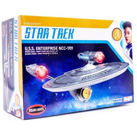 Polar Lights 1-2500 Star Trek Discovery USS Enterprise SNAP Kit