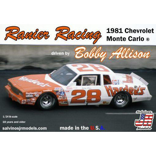 Salvinos JR 1/24 Ranier Racing 1981 Chevrolet ® Monte Carlo driven by Bobby Allison
