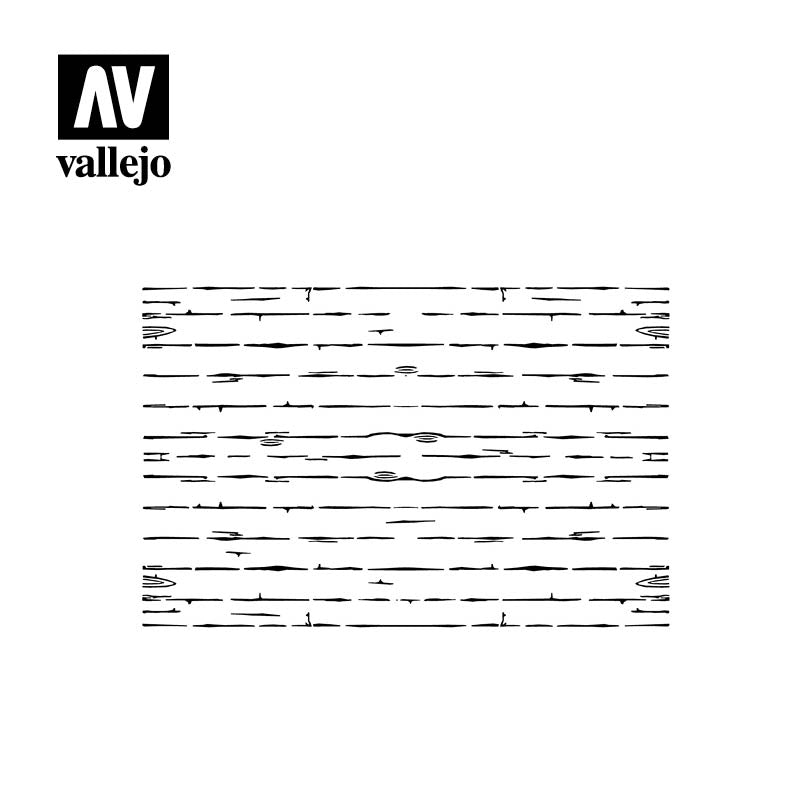 Vallejo Stencils - Wood Texture Nº1 Scale 1/35