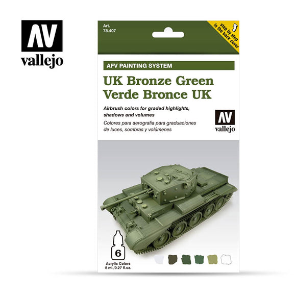 Vallejo AFV - UK Bronze Green