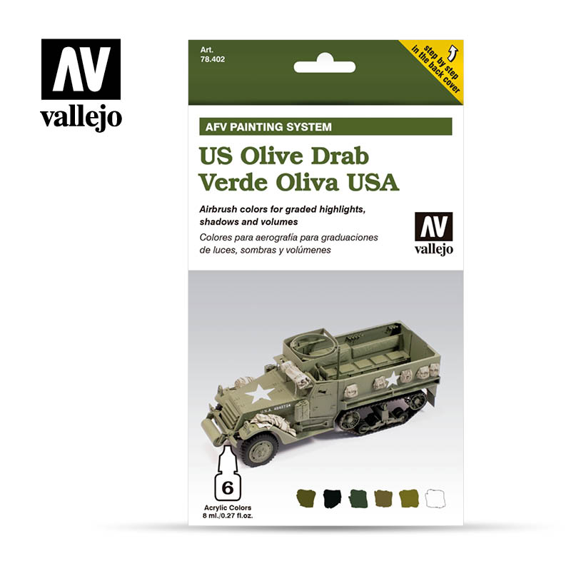 Vallejo AFV - US Army Olive Drab