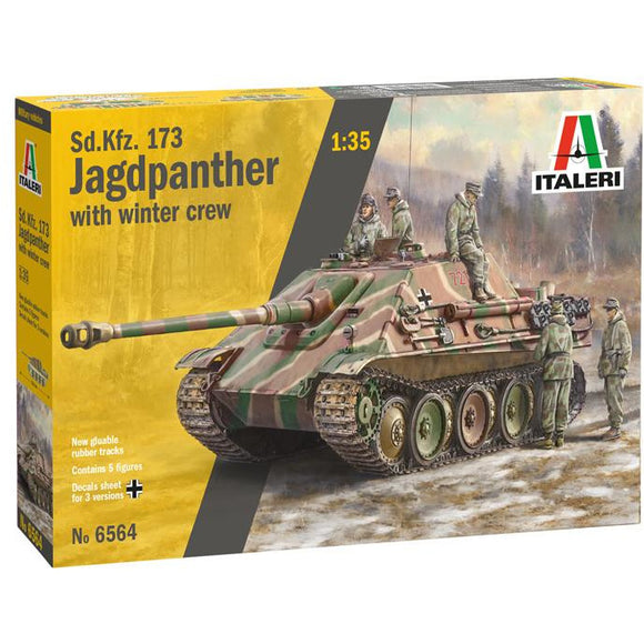Italeri-1-35-SdKfz173-JAGDPANTHER-with-winter-crew