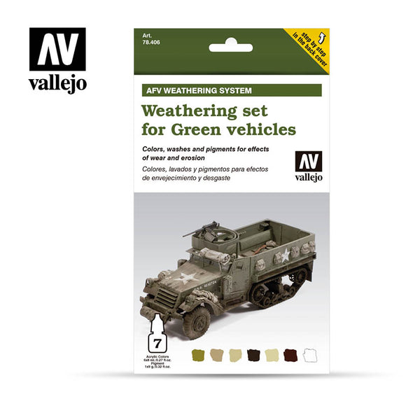 Vallejo AFV - Weathering for Green vehicles