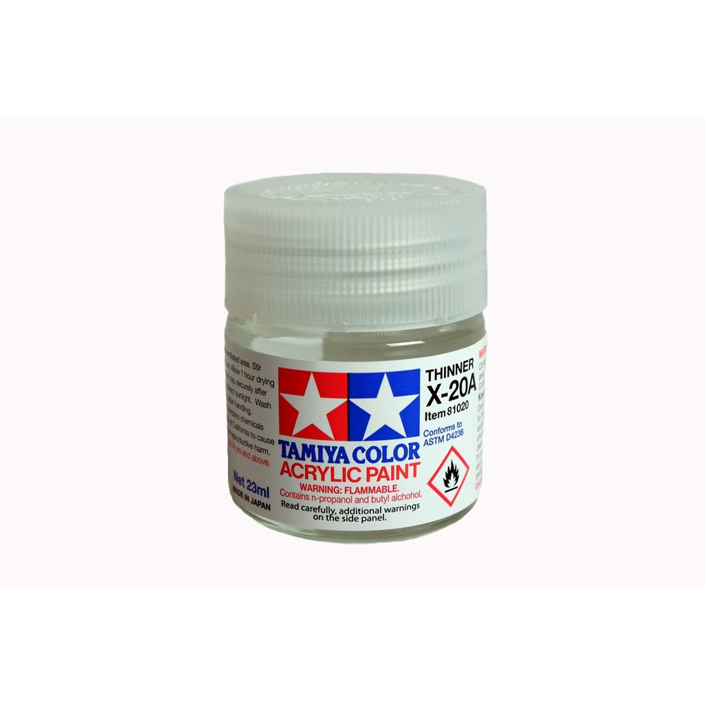 Acryl/Poly Thinner X-20A 23Ml Dd120 / Tamiya USA