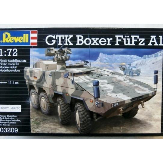 Revell 803209 1:72 GTK Boxer FuFz A1 Model Kit