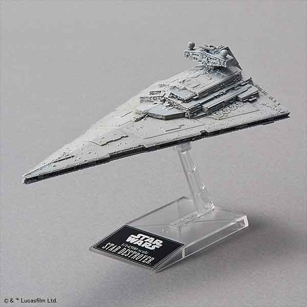 "001 Star Destroyer ""Star Wars"", Bandai Star Wars Vehicle Model"