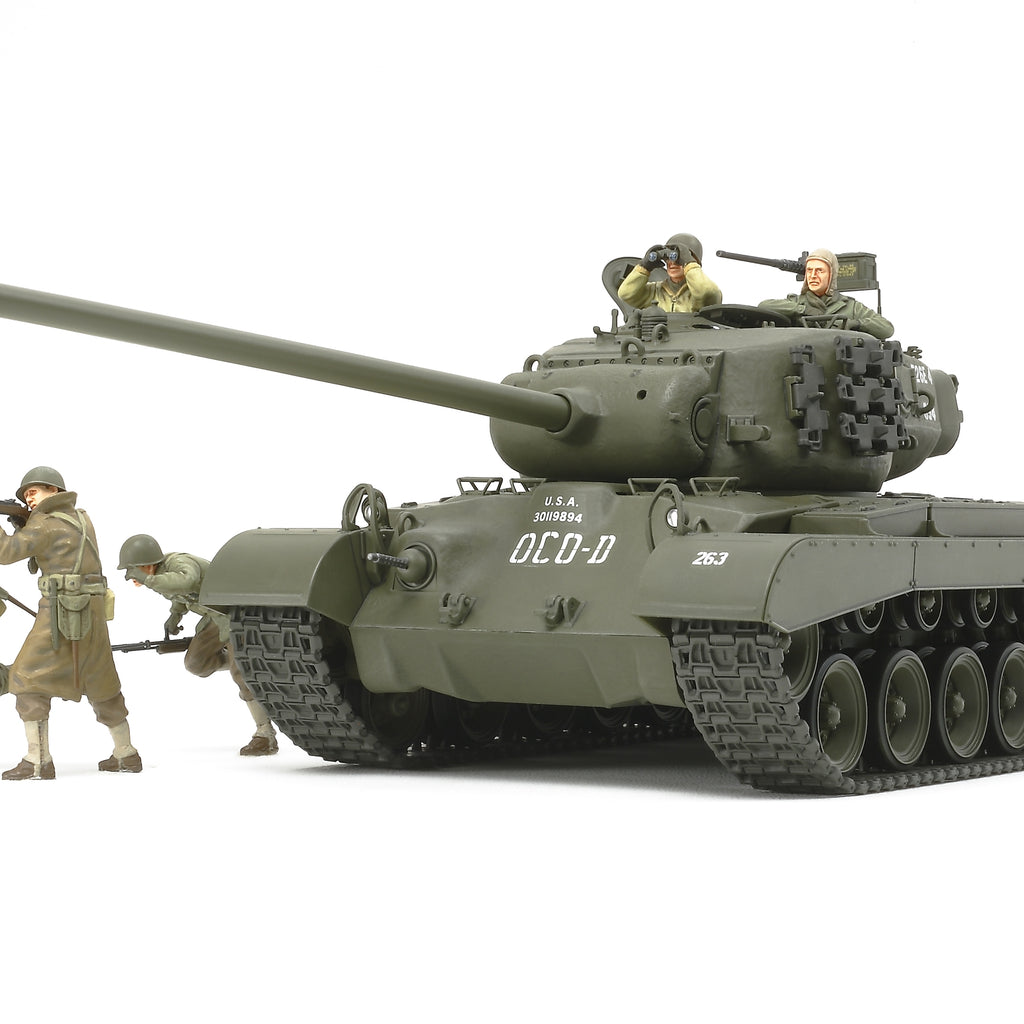 "Tamiya 1:35 Us Tank T26E4 ""Super Pershing"""