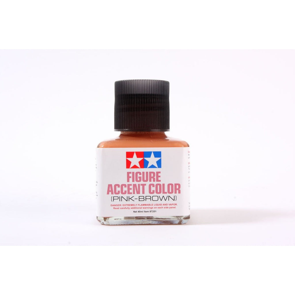 Tamiya 87201 Figure Accent Color (Pink-Brown) / Tamiya USA