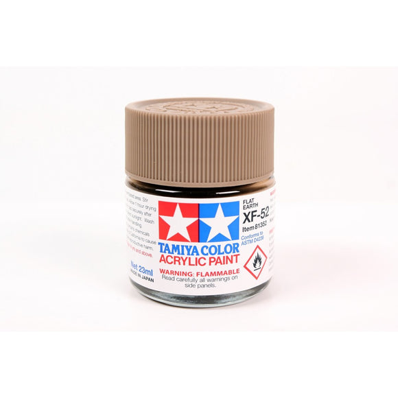 Acrylic Xf-52 Flat Earth 23Ml Bottle / Tamiya USA