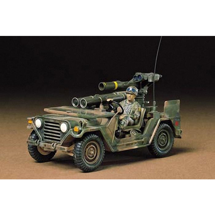 Tamiya 1-35 U.S. M151A2 WITH TOW LAUNCHER KIT