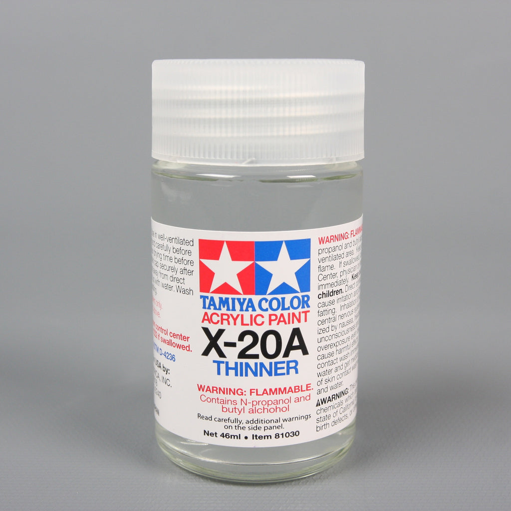 Acryl/Poly Thinner X-20A 46Ml Dd301 / Tamiya USA