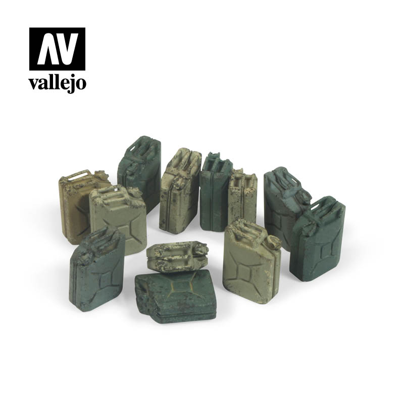 Vallejo Scenics - German Jerrycan Set