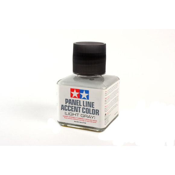 Tamiya 87189 Panel Line Accent Color Light Grey / Tamiya USA