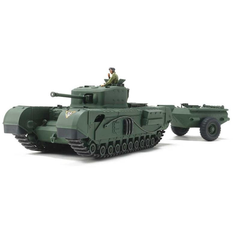 Tamiya 1/48 British Tank Churchill MkVII Model Tank