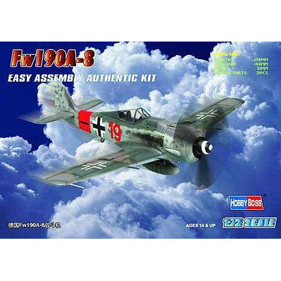 HobbyBoss 1/72 scale Fw190A-8 German Fighter
