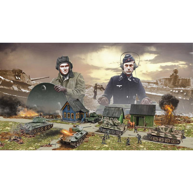 Italeri-1-72-1944 BATTLE AT MALINAVA - BATTLE SET
