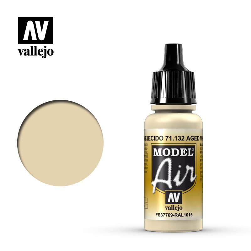 Model Air Vallejo Aged White 71132 acrylic airbrush color