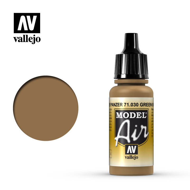 Model Air Vallejo Brown Green 71030 acrylic airbrush color