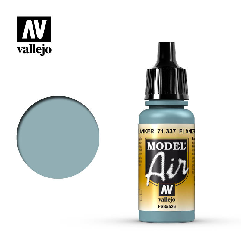 Model Air Vallejo Flanker Blue 71337 acrylic airbrush color