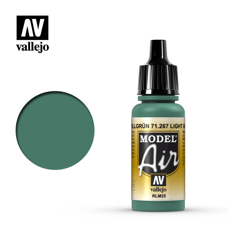 Model Air Vallejo RLM25 Light Green 71267 acrylic airbrush color