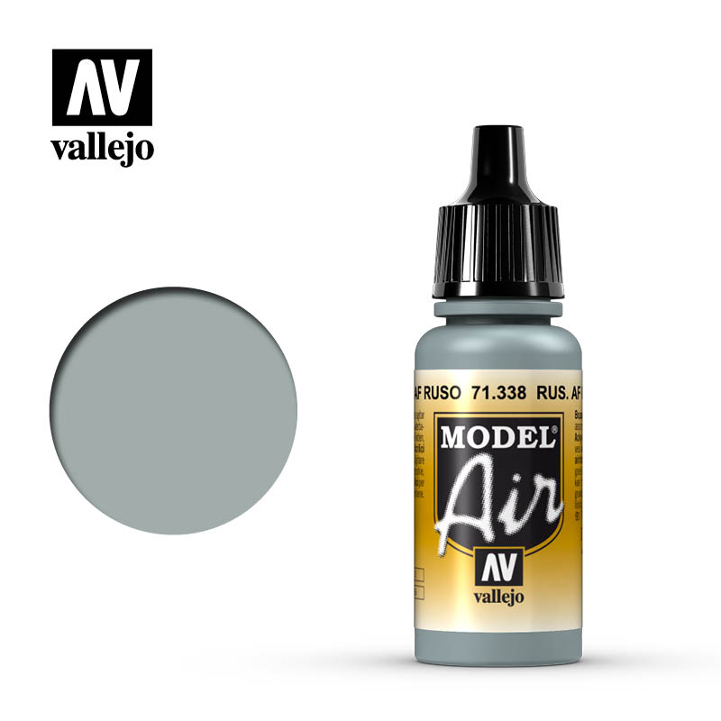 Model Air Vallejo Russian AF Grey Blue 71338 color