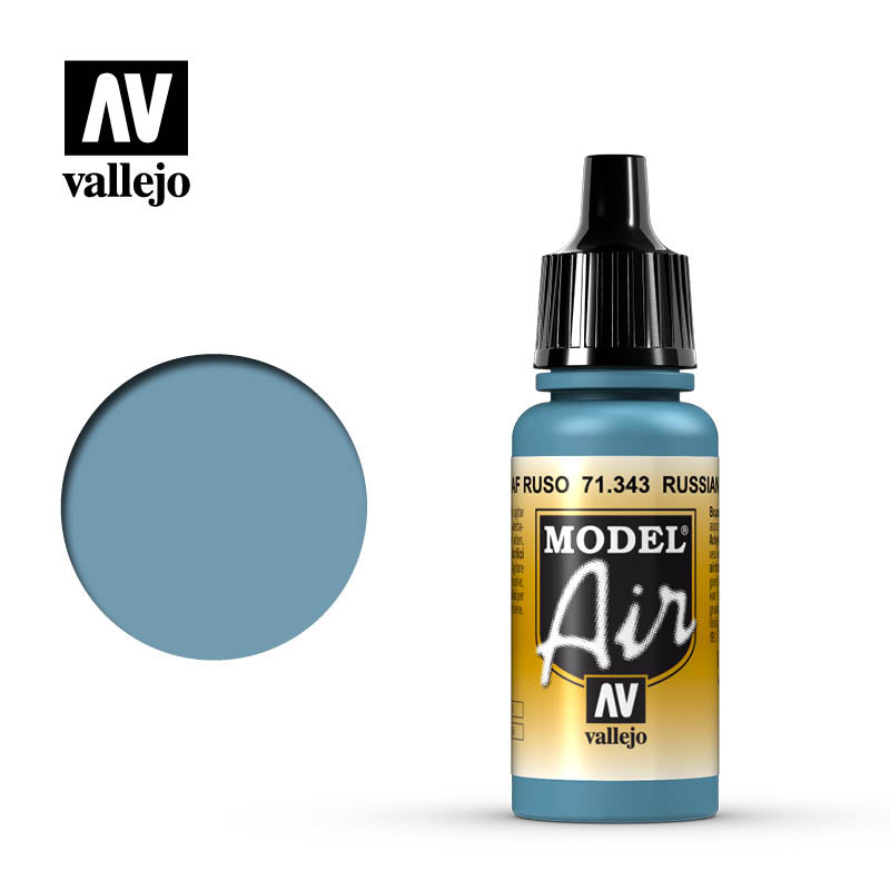 Model Air Vallejo Russian AF Grey N.7 71343 color