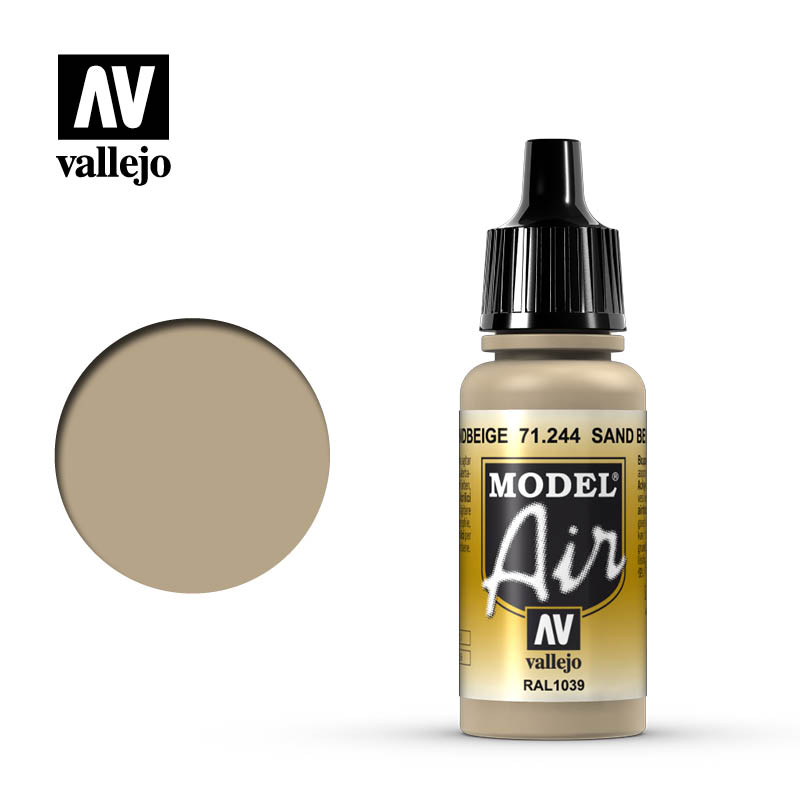 Model Air Vallejo Sand Beige 71244 acrylic airbrush color