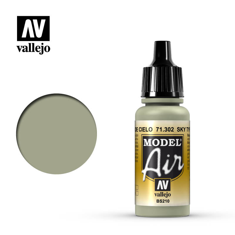 Model Air Vallejo Sky Type S 71302 acrylic airbrush color