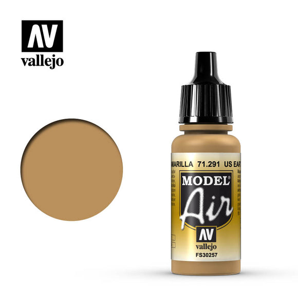 Model Air Vallejo US Earth Yellow 71291 acrylic airbrush color