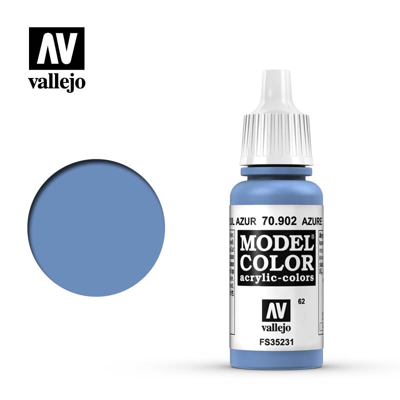 Vallejo Model Color Azure 70902 for painting miniatures