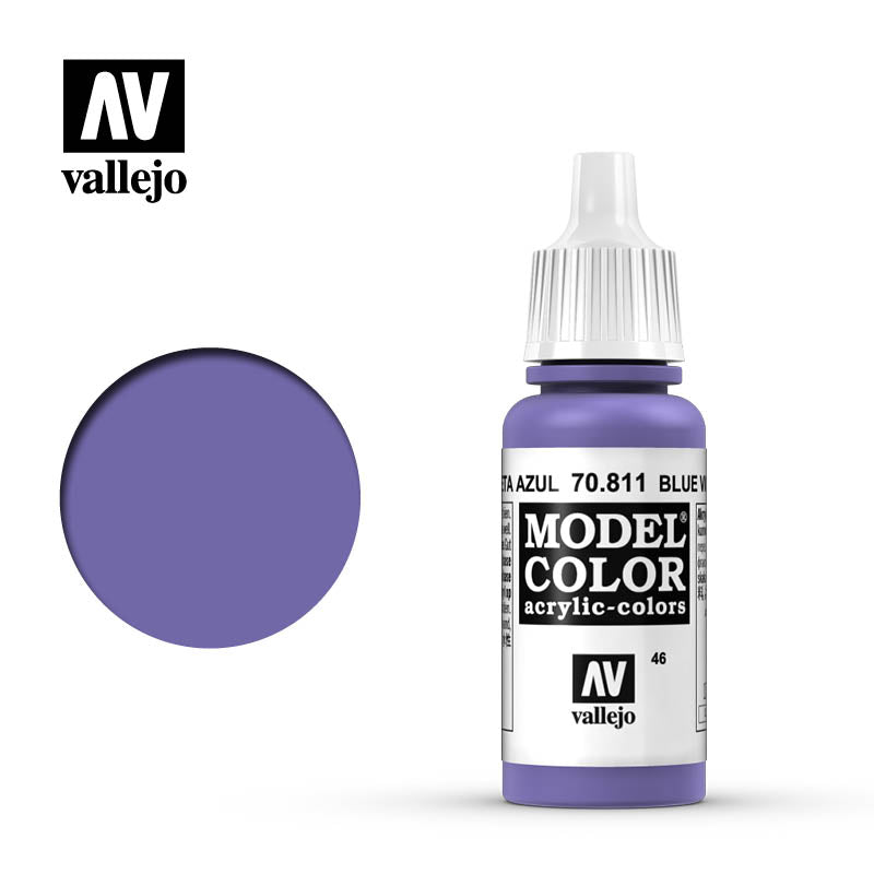 Vallejo Model Color Blue Violet 70811 for painting miniatures