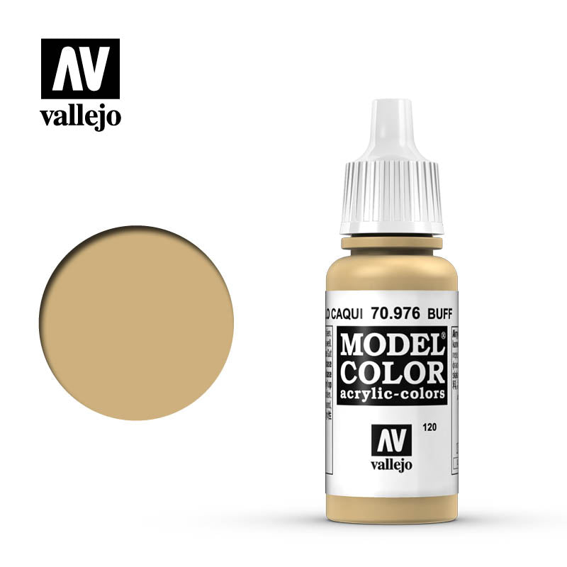 Vallejo Model Color Buff 70976 for painting miniatures